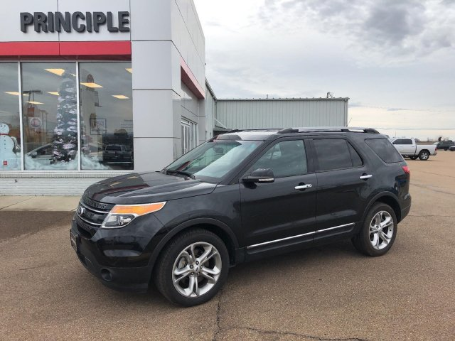 2015 Ford Explorer For Sale >> Pre Owned 2015 Ford Explorer Limited 4wd