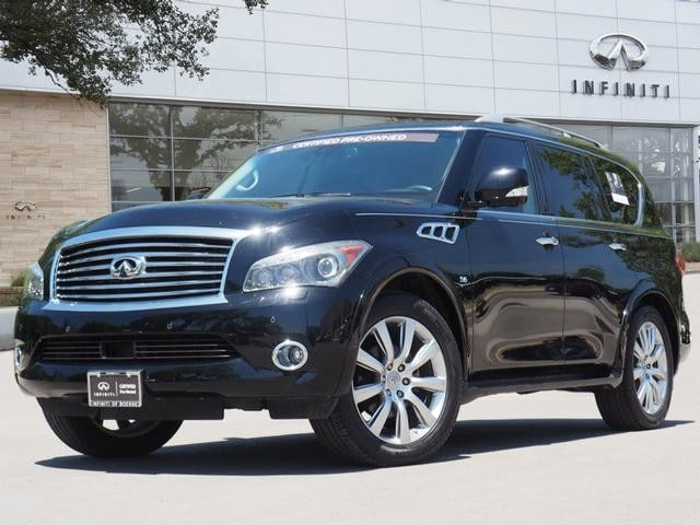Certified Pre-Owned 2014 INFINITI QX80