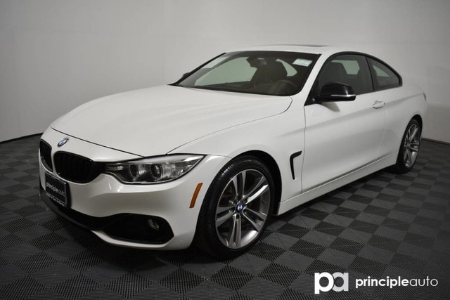 Bmw 428i Coupe >> Pre Owned 2014 Bmw 428i Coupe 428i W Premium Navigation Coupe For