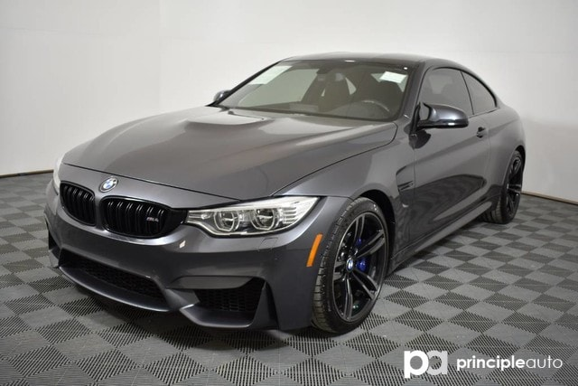 certified pre-owned 2016 bmw m4 coupe w/ executive/lighting coupe
