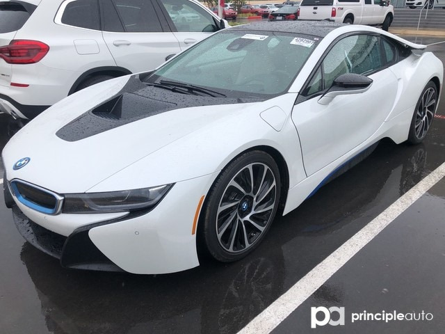 Certified Pre-Owned 2016 BMW i8 Coupe Giga World