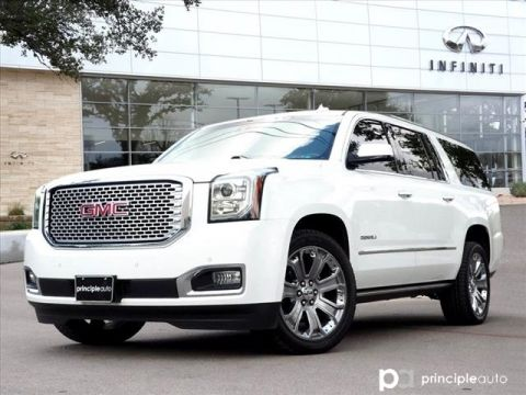 Pre-Owned 2016 GMC Yukon XL Denali, Driver Alert Package, Preferred Equipment