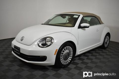 Pre-Owned 2016 Volkswagen Beetle Convertible 1.8T SEL