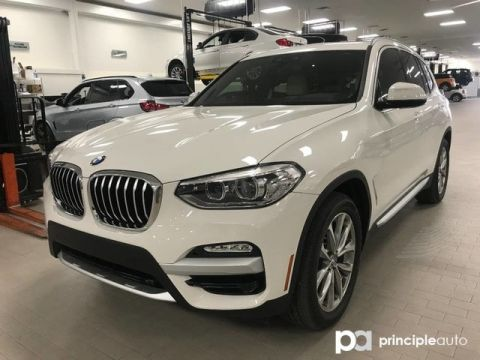 Certified Pre-Owned 2019 BMW X3 sDrive30i w/ Premium/Driving Assist/Convenience