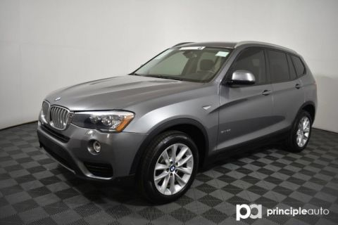 Certified Pre-Owned 2016 BMW X3 sDrive28i w/ Premium/Driving Assist