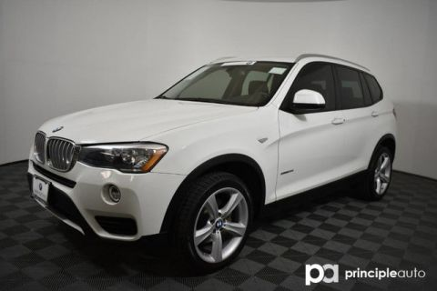 Certified Pre-Owned 2017 BMW X3 sDrive28i w/ Driving Assist/Technology