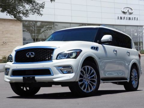 Pre-Owned 2015 INFINITI QX80 5.6
