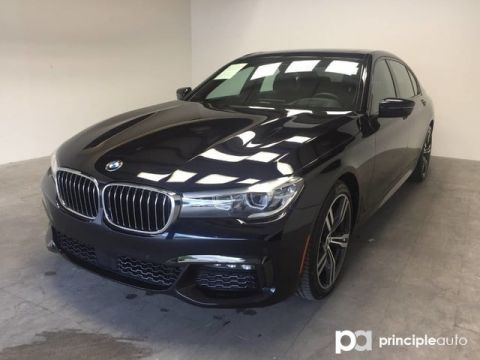 Certified Pre-Owned 2018 BMW 740i 740i w/ M Sport/Executive/Driving Assist/Sky Loung