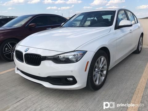 Certified Pre-Owned 2017 BMW 320i 320i w/ Driving Assist/Moonroof