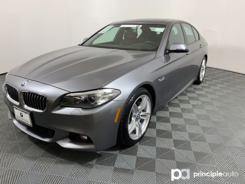 Certified Pre-Owned 2016 BMW 535d 535d w/ M Sport/Premium