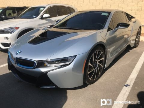Certified Pre-Owned 2017 BMW i8 Coupe Mega World